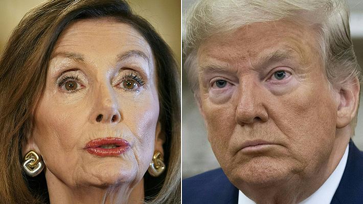 Reunión de Trump con parlamentarios termina en escándalo: Acusan al Mandatario de insultar a Nancy Pelosi