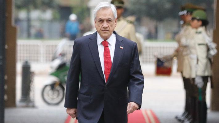 """Piñera y disturbios en el Metro: """"Estamos estudiando aplicar la Ley de Seguridad del Estado"""""""