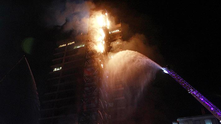 """Enel afirma que edificio corporativo fue """"atacado por desconocidos"""" y asegura que no hay lesionados"""