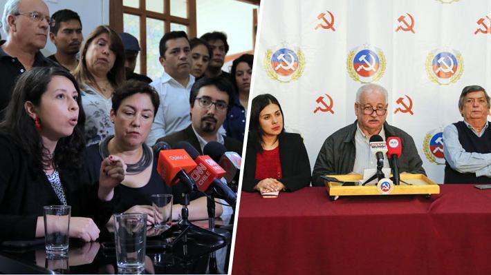 """Frente Amplio, PC y DC rechazan reunirse con Presidente Piñera """"mientras no se levante el estado de emergencia"""""""