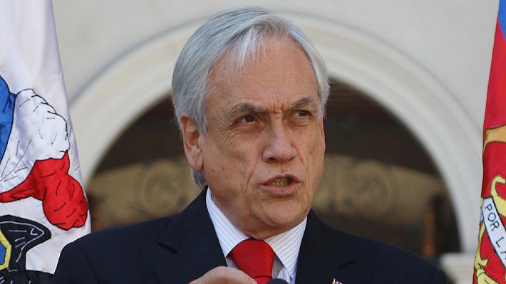 """Presidente Piñera: """"Estamos en guerra contra un enemigo poderoso que no respeta a nada ni a nadie"""""""