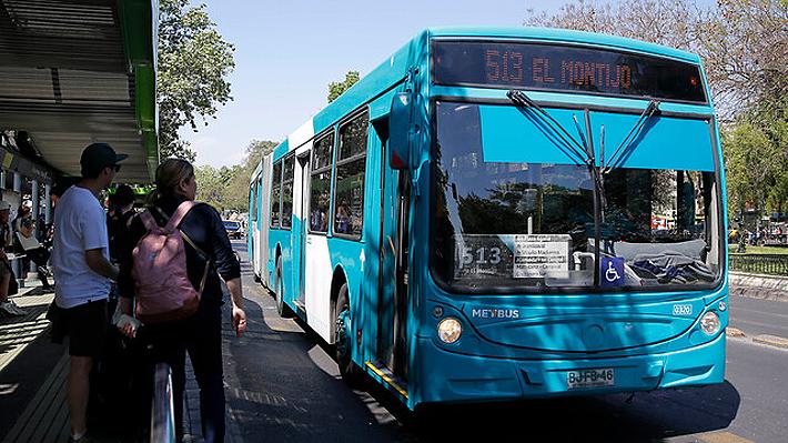 Plan de contingencia de Transantiago: 425 buses reforzarán la red y habrá seis ejes exclusivos