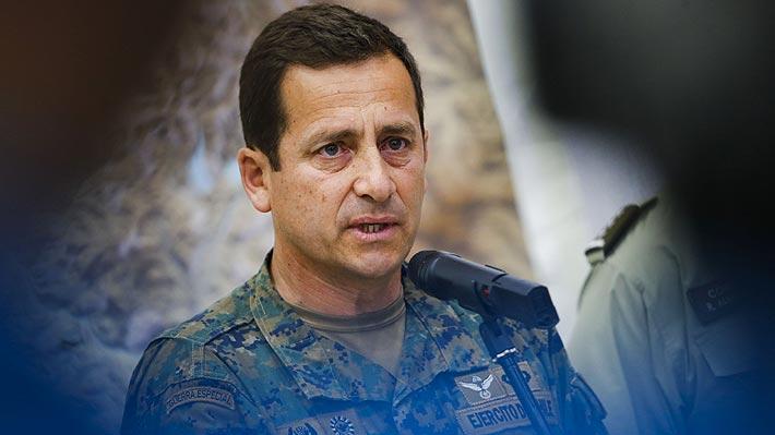 """General Iturriaga por palabras de Piñera: """"Soy un hombre feliz y la verdad no estoy en guerra con nadie"""""""