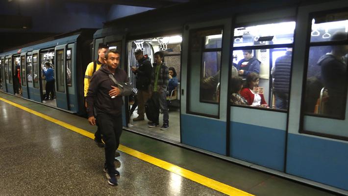 Este martes comienza a regir nueva tarifa del Metro tras aprobación de ley que suspende aumento de pasajes
