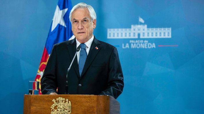 """Piñera alista propuesta de una """"agenda social"""" para responder a demandas ciudadanas"""