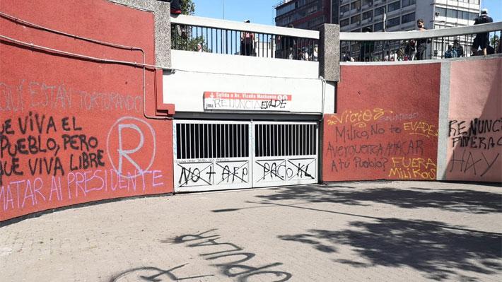 Fiscalía Oriente descarta por el momento torturas y apremios en comisaría de estación Baquedano