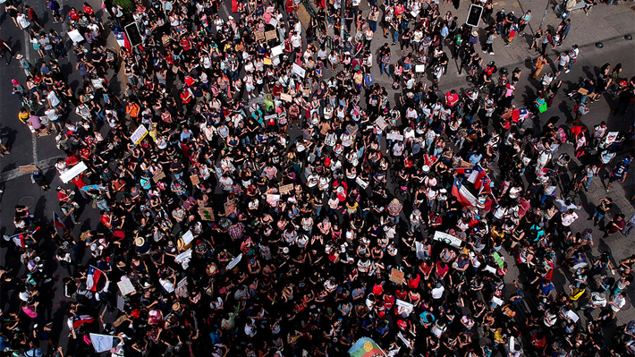 Reviva En tiempo real las manifestaciones de este miércoles