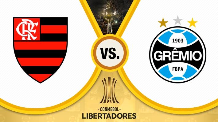 Repasa la goleada de Flamengo sobre Gremio en la Copa Libertadores