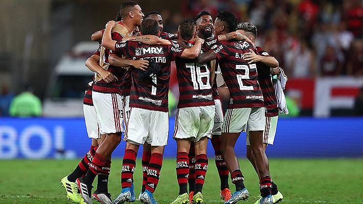 Flamengo aplastó a Gremio y enfrentará al River de Paulo Díaz en la gran final de la Copa Libertadores
