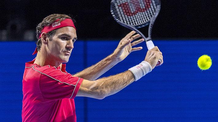 """A semanas de su exhibición en Chile, Federer expresa """"preocupación"""" por la crisis social"""