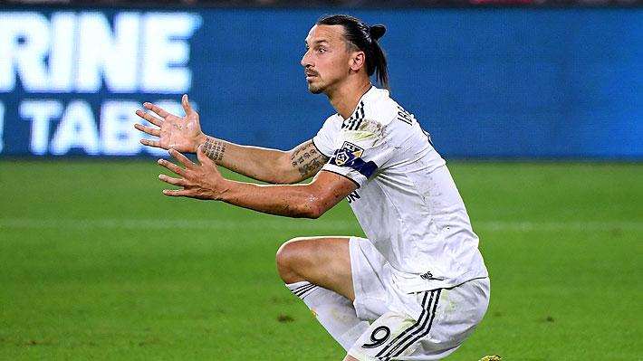 """Mira el """"irrespetuoso"""" y """"polémico"""" gesto de Ibrahimovic hacia hinchas rivales en la MLS"""
