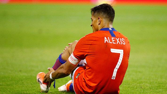 """DT del Inter reconoció que """"la baja de Alexis por lesión ha sido una pérdida considerable"""" para el equipo"""