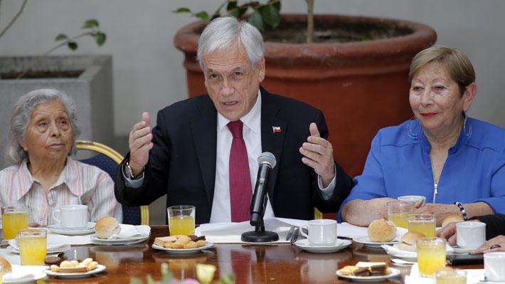 Reforma de pensiones: Piñera sube a un 5% cotización con cargo al empleador y 1% irá a seguros sociales