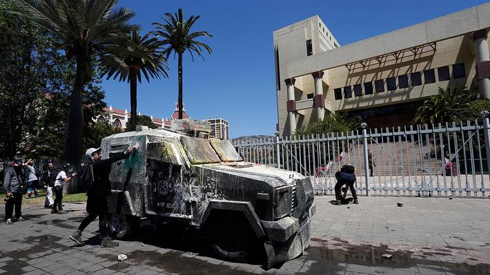 """Cámara suspende actividades ante manifestaciones en el entorno: """"La situación de riesgo es alta"""""""