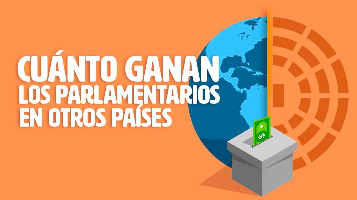 Cómo se compara el salario de los parlamentarios chilenos con otros países del mundo