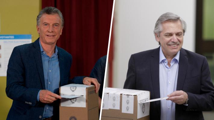 """Elecciones en Argentina: Macri y Fernández ya votaron y aseguraron que esta es """"una jornada histórica"""""""