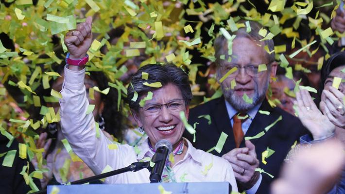 Oposición a Duque triunfa en elecciones locales de Colombia: En Bogotá fue elegida la primera alcaldesa mujer