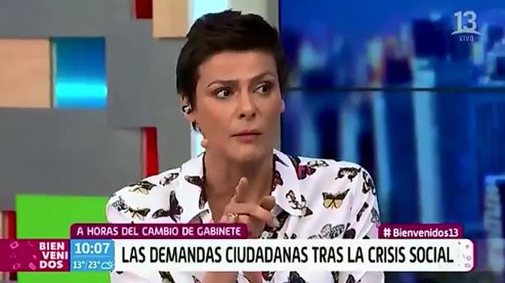 Tonka Tomicic protagoniza tenso momento con José Miguel Insulza: Senador cuestionó el sueldo de la animadora