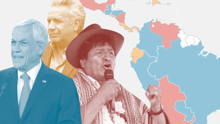 El mapa ideológico de Latinoamérica: Cómo quedó el escenario político en la región tras el triunfo de Alberto Fernández
