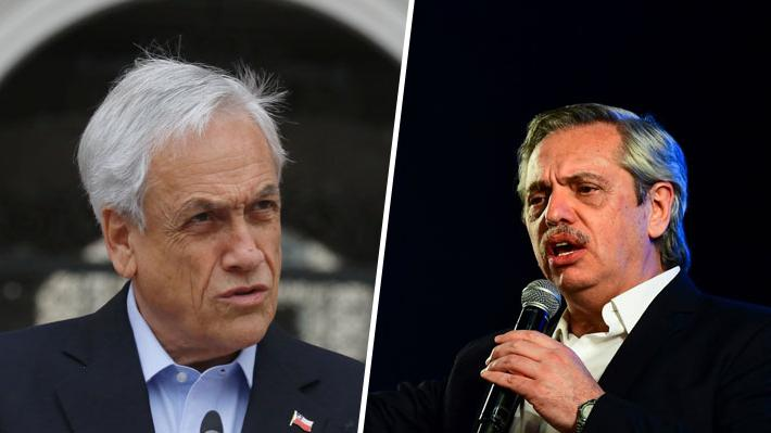 Piñera se comunica con Fernández tras su triunfo en Argentina y lo invita a Chile