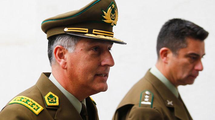 """General Rozas y actuación policial durante estado de emergencia: """"No hay ningún reproche"""""""