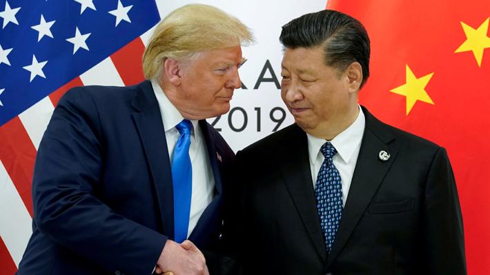 Trump anuncia que con China están buscando nueva sede para firmar el acuerdo comercial tras cancelación de la APEC en Chile