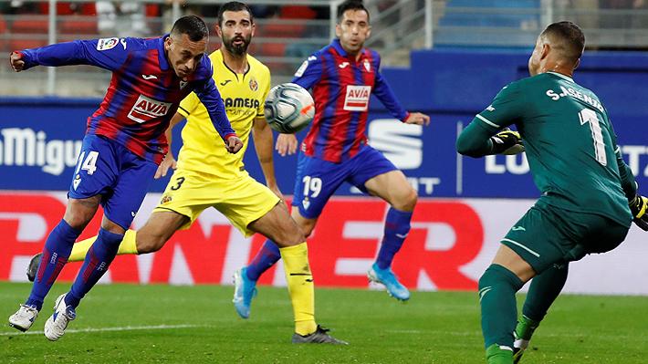 """El curioso elogio del técnico del Eibar a Fabián Orellana: """"Es un ratón verde colorado, no sabes cómo pillarlo"""""""
