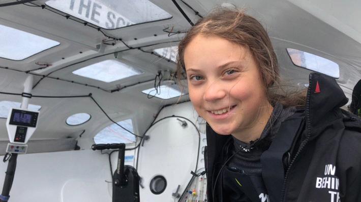 """Greta Thunberg envía su apoyo a la gente de Chile y pide """"ayuda"""" para llegar a Madrid a la COP25"""