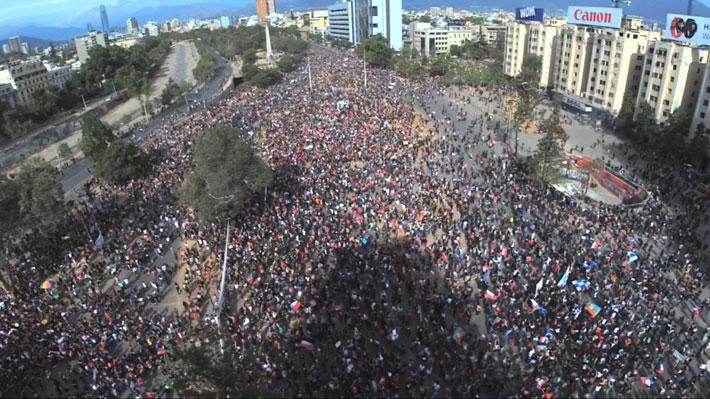 Gobierno entrega cifras tras nueva jornada de manifestaciones e Intendencia RM hace positivo balance