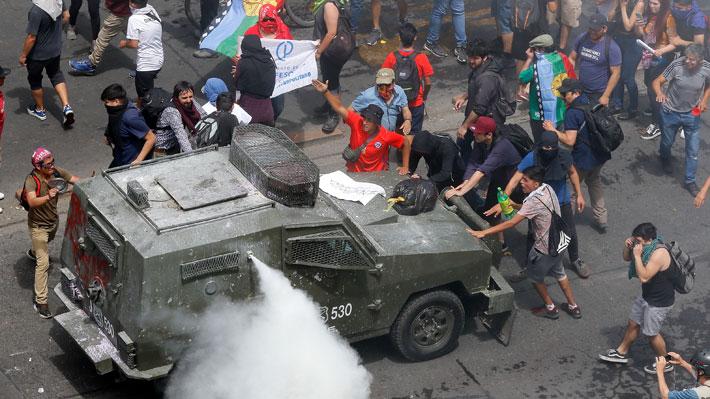 Interior reporta disminución de detenidos, pero aumento de civiles lesionados en el país en la última jornada