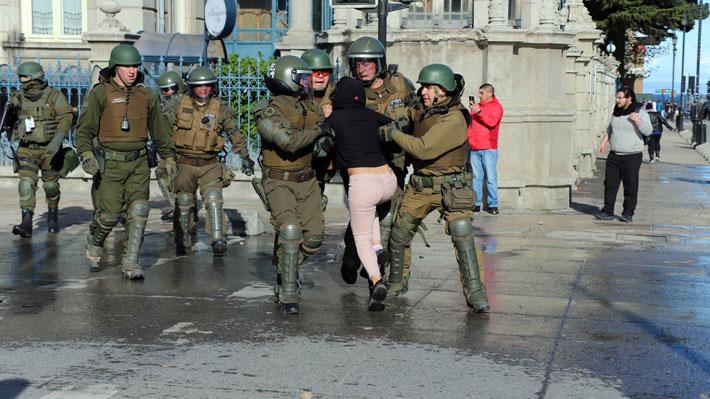 Interior reporta que ayer hubo reducción de personas detenidas y de civiles lesionados en manifestaciones