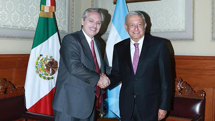 En busca de un nuevo referente progresista: AMLO recibe en México a Alberto Fernández