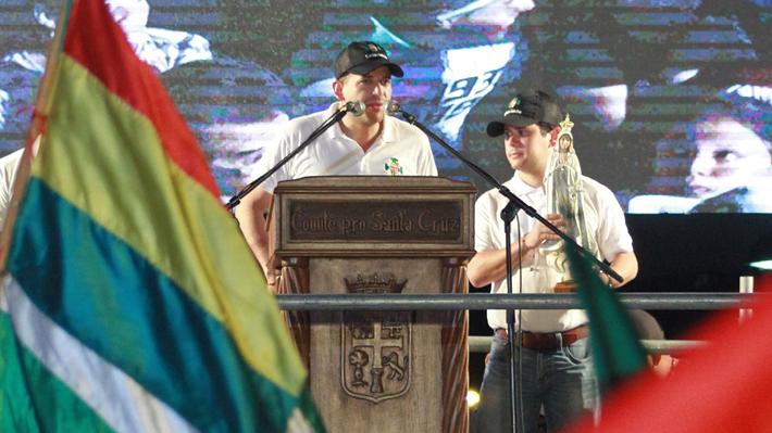 Quién es Luis Fernando Camacho, el líder de la oposición boliviana que le exigió la renuncia a Evo Morales