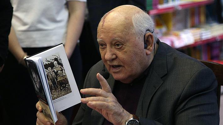 A 30 años de la caída del Muro de Berlín, Gorbachov advierte que Europa sigue dividida