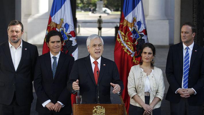 Piñera envía al Congreso ley de ingreso mínimo garantizado de $350 mil: Se beneficiarían cerca de 540 mil trabajadores