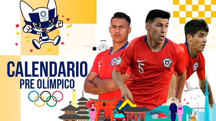 Conoce las fechas, los rivales de Chile y todo el calendario del Preolímpico Sub 23