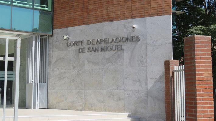 Corte de San Miguel confirma prisión preventiva de profesor indagado por daños a Metro