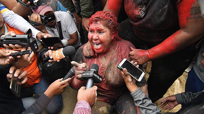 Opositores bolivianos secuestran, golpean y humillan a alcaldesa militante del partido de Evo Morales