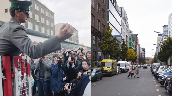 Galería: Fotos muestran cómo era el Berlín dividido por el muro y cómo se encuentra en la actualidad