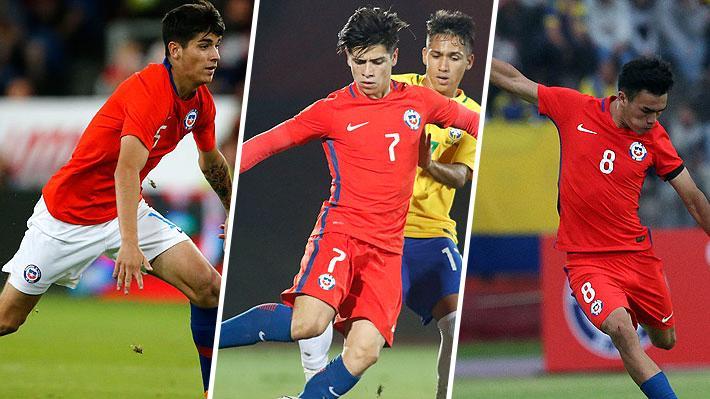 Gabriel Suazo, Ángelo Araos, Víctor Dávila... La base de los jugadores que se proyectan de cara al Preolímpico Sub 23
