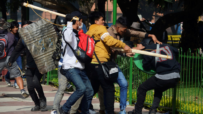 Un muerto y más de 60 heridos dejó la última jornada de movilizaciones en Bolivia