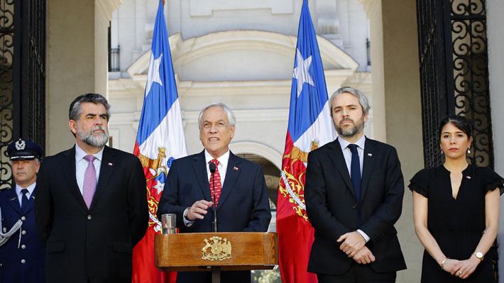 Presidente convoca al Consejo de Seguridad Nacional y presenta agenda que incluye mayores penas para saqueos