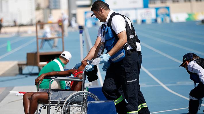 Atleta paralímpica colapsó y se desplomó por las altas temperaturas en el Mundial de Dubai... Revisa las imágenes