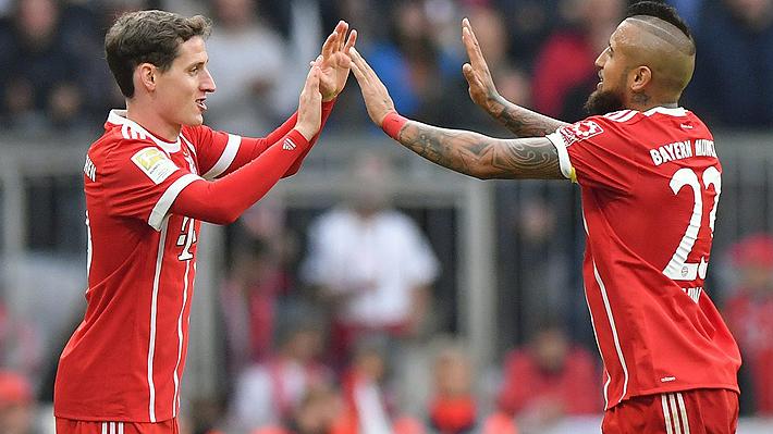 """Seleccionado alemán elogió a Vidal: """"Siempre podía impresionarme cuando jugaba contra él"""""""