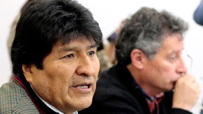 """Evo Morales advierte que no renunciará y llama a sus adherentes """"defender el proceso de cambio"""""""