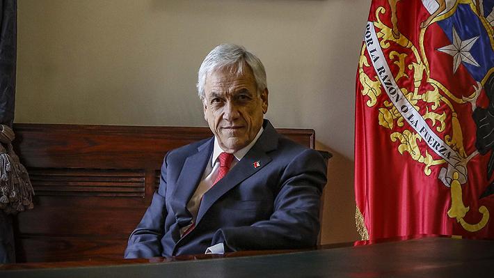 """Presidente Sebastián Piñera: """"Estamos preparando un proyecto de cambios a la Constitución"""""""