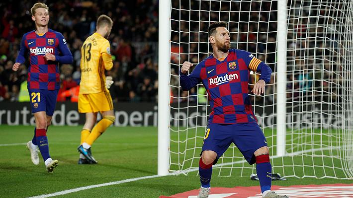 Vidal se quedó sin jugar: El Barcelona goleó al Celta y trepó a la cima de la Liga española