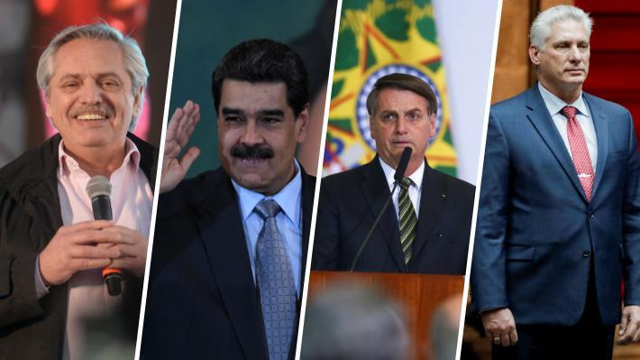 Las divergentes declaraciones de  los líderes latinoamericanos tras la renuncia de Evo Morales