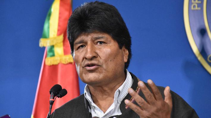 """Morales llama a la oposición boliviana a """"asumir su responsabilidad de pacificar el país"""""""