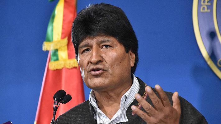 Congreso de Bolivia recibe la carta de renuncia de Evo Morales a la Presidencia